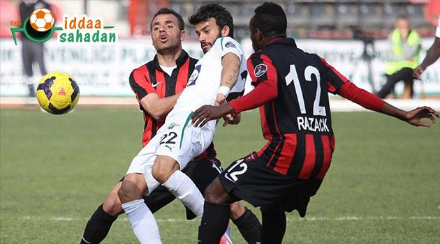 Akhisar - Karabüksor Maç Özeti