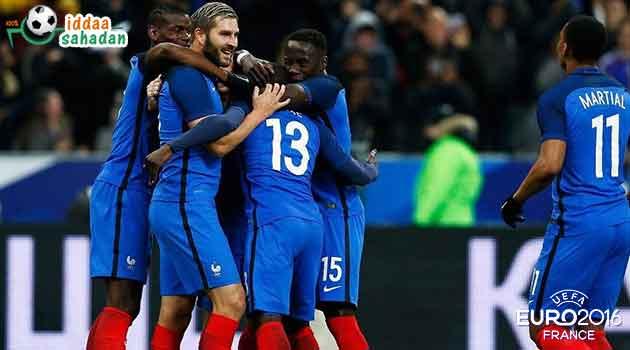 Lüksemburg Fransa Maç Özeti