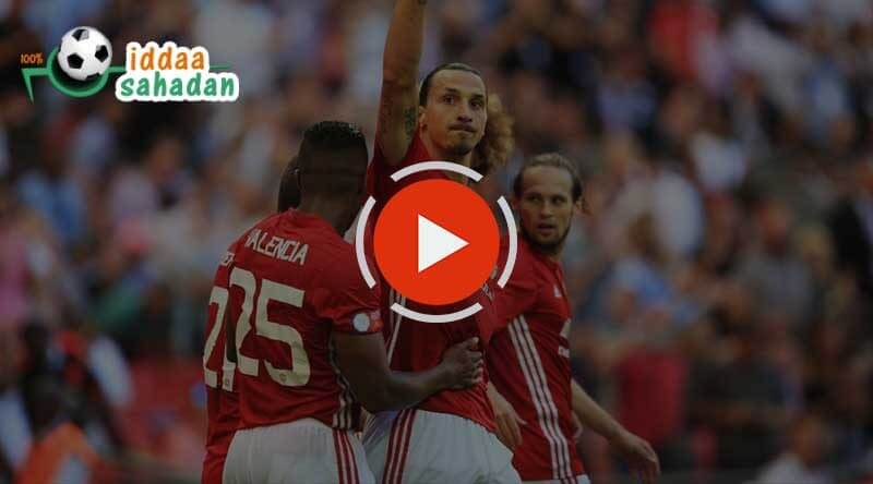 St Etienne Manchester United Maç Özeti
