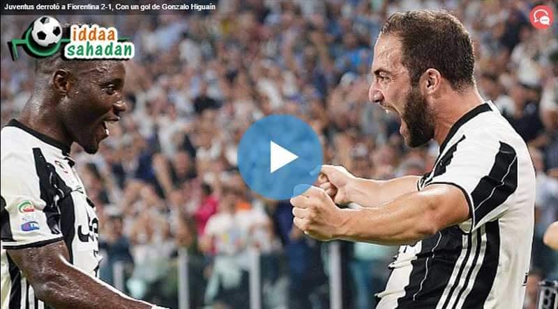 Juventus Fiorentina Maç Özeti