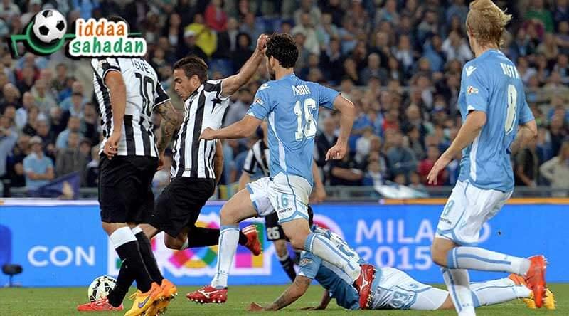 Lazio Juventus iddaa Tahmin