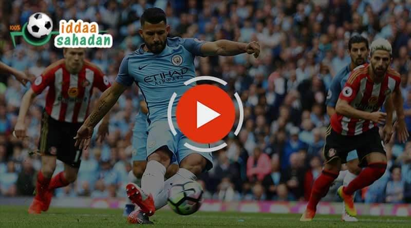 Manchester City Sunderland Maç Özeti