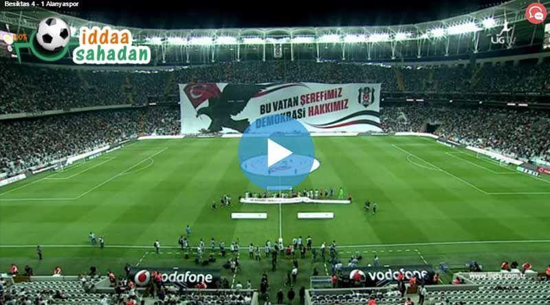 Gaziantepspor 0 - 4 Beşiktaş