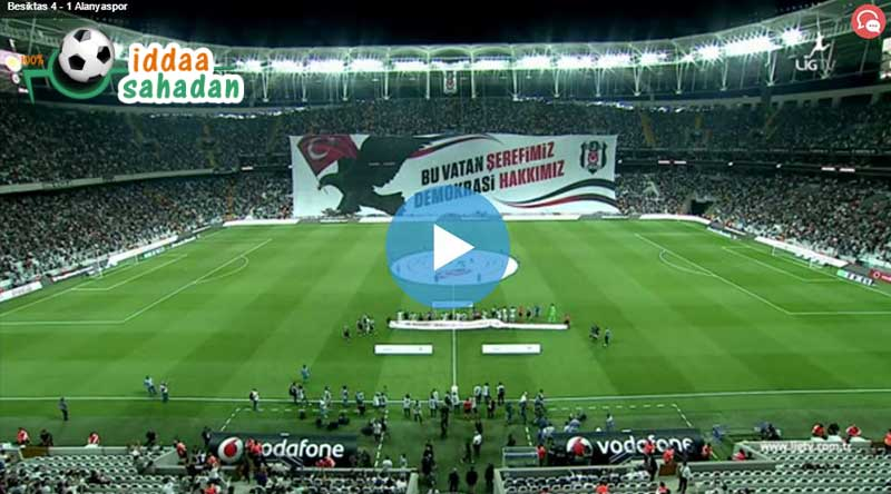 Beşiktaş 4 - 0 Osmanlıspor