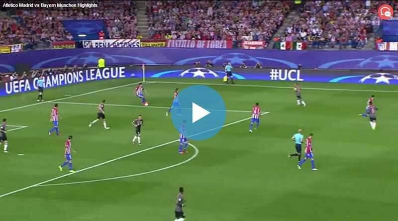 Atletico Madrid Bayern Münih Maçı Özeti