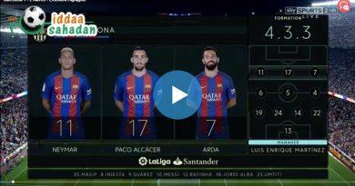 Valencia 2 – 3 Barcelona Geniş Maç Özeti
