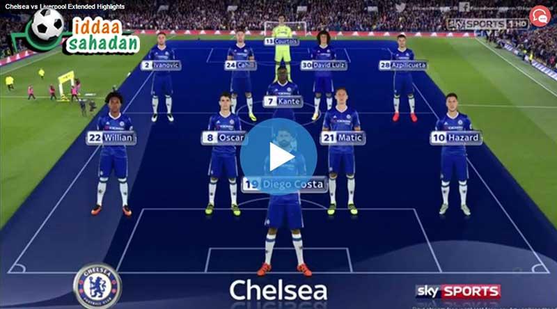 Chelsea Liverpool Maçı Özeti