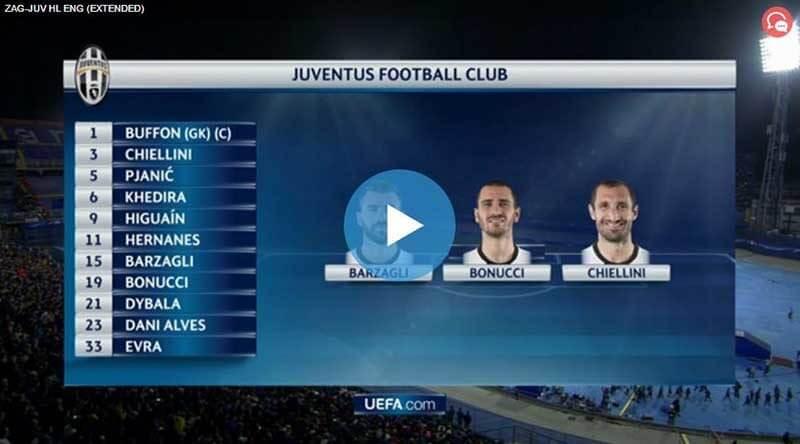 Monaco Juventus Maç Özeti
