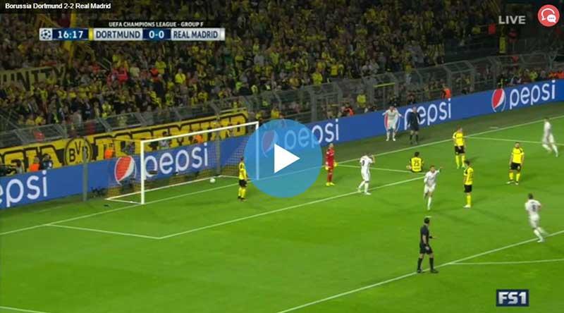 Dortmund Real Madrid Maçı Özeti