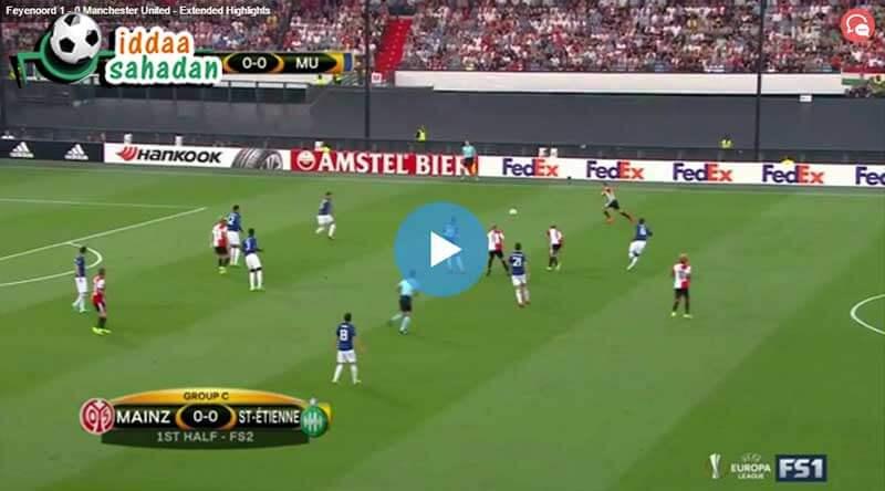 Feyenoord Manchester United Maçı Özeti