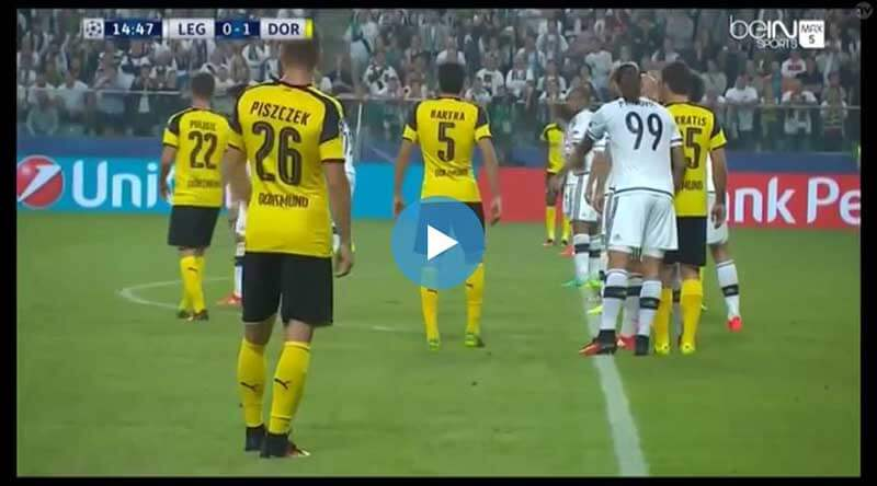Legia Varşova Dortmund Maçı Özeti