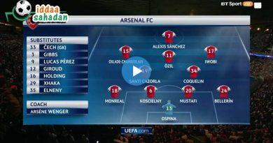 Arsenal 2 – 1 Manchester City Geniş Maç Özet