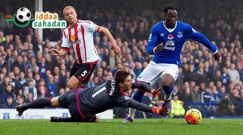 Sunderland Everton iddaa Tahmin