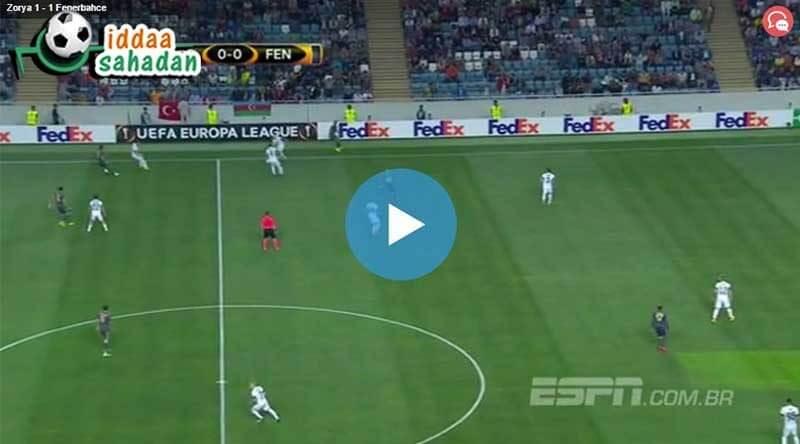 Karabükspor Fenerbahçe Maç Özeti