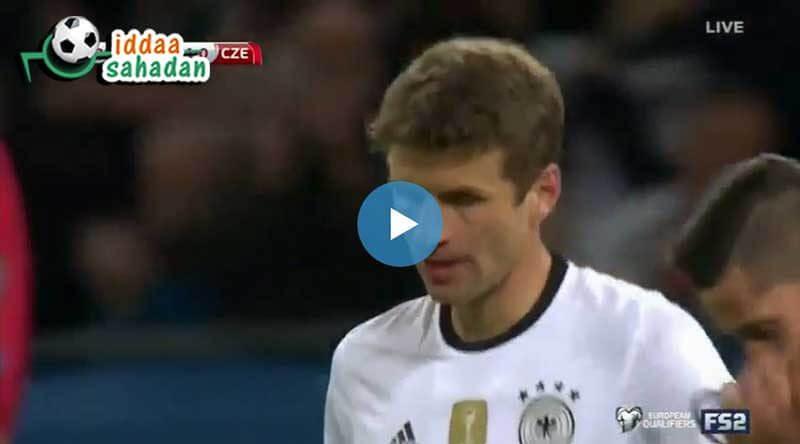 Almanya Çek Cumhuriyeti Maçı Özeti