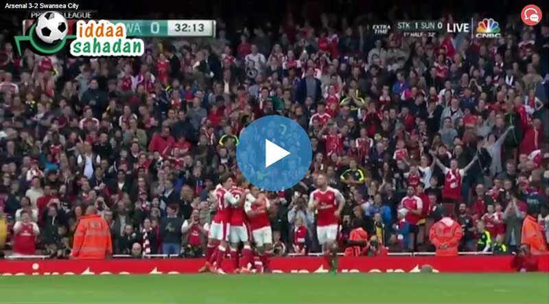 Arsenal 3 - 1 Everton Maç Özeti