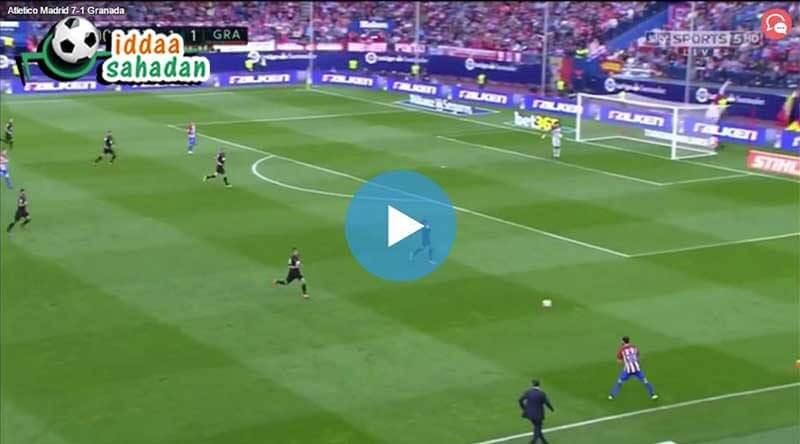 Eibar Atletico Madrid Özet
