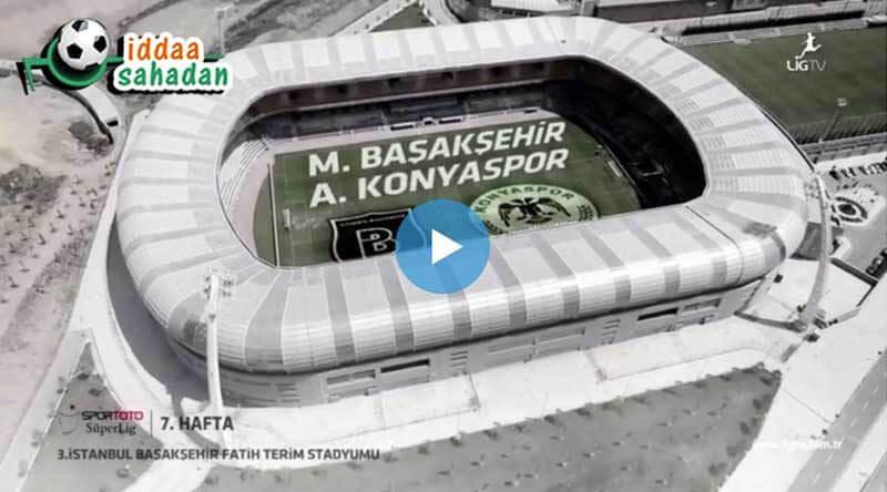 Başakşehir Konyaspor Maç Özeti