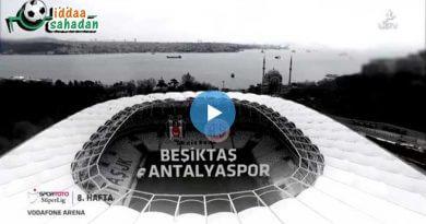Beşiktaş 2 – 0 Antalyaspor Maç Özeti