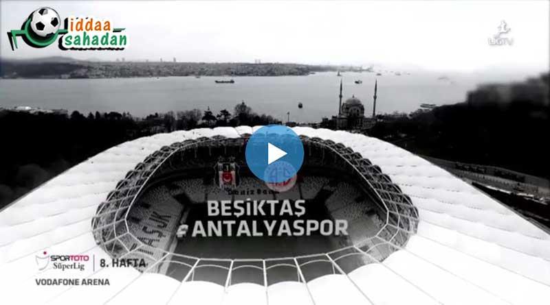 Beşiktaş Antalyaspor Özet