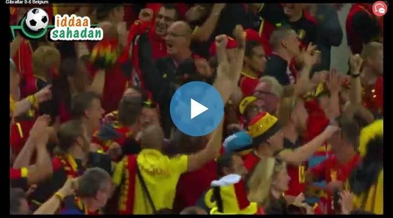 Belçika Yunanistan Maç Özeti