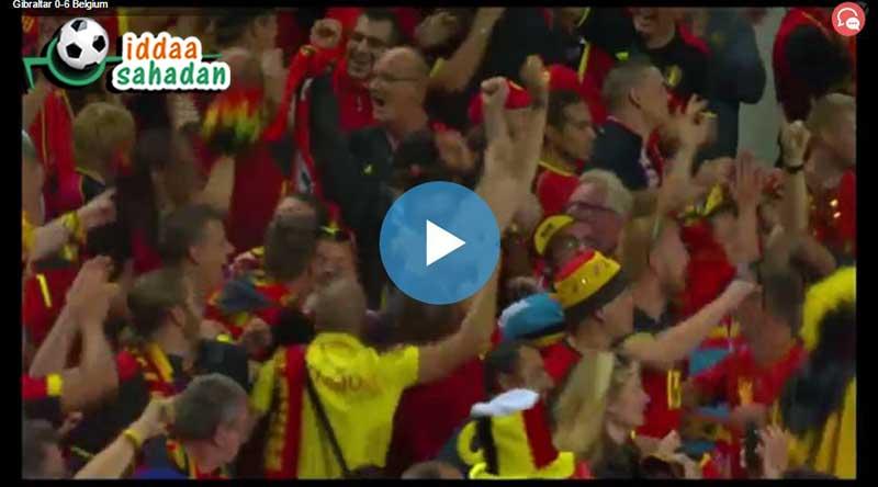 Cebelitarık Belçika Maç Özeti