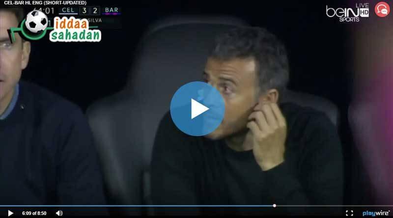 Celta Vigo Barcelona Maçı Özeti