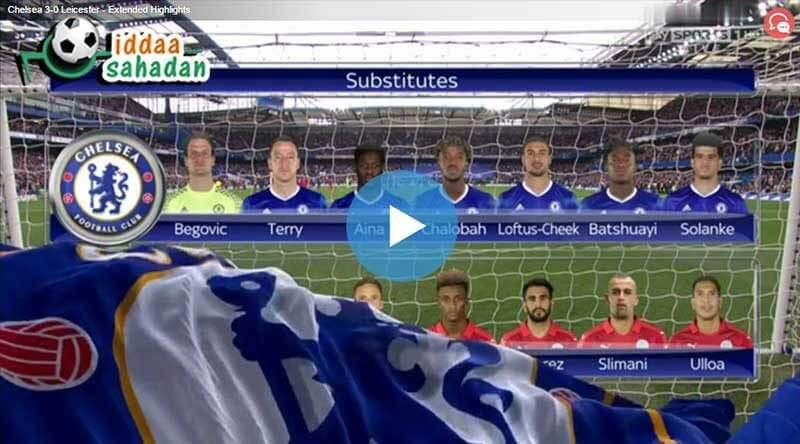 Chelsea Bournemouth Maç Özeti