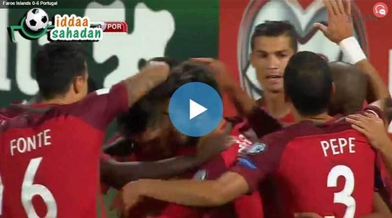 Portekiz Meksika Maç Özeti