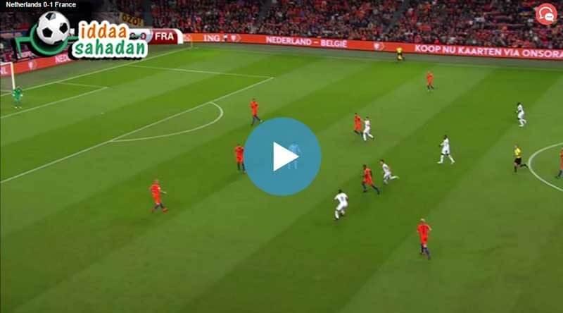Bulgaristan Hollanda Maç Özeti