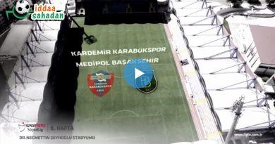 Karabükspor 0 – 2 Başakşehir Geniş Maç Özeti
