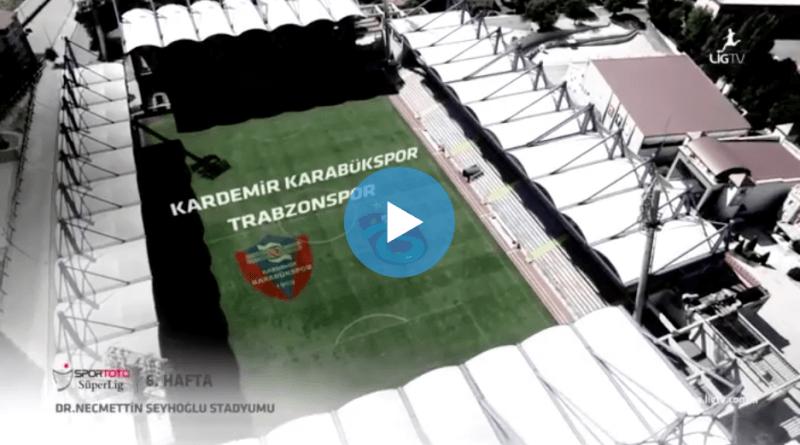 Karabükspor Trabzonspor Özet izle