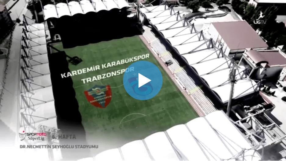 Karabükspor Trabzonspor Maçı Özeti