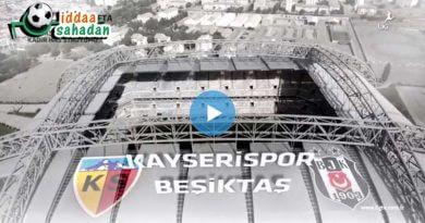Kayserispor Beşiktaş Maç Özeti izle