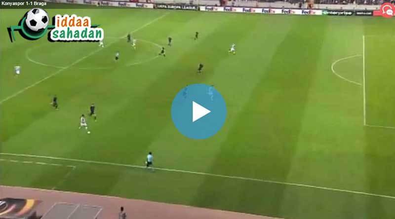 Konyaspor Guimaraes Özet