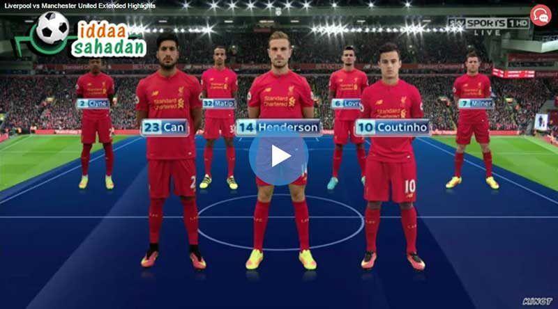 Liverpool Burnley Maç Özeti