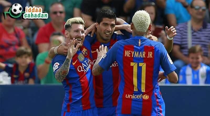 Leganes 0-3 Barcelona Maç Özeti ve Goller (18 Kasım 2017)