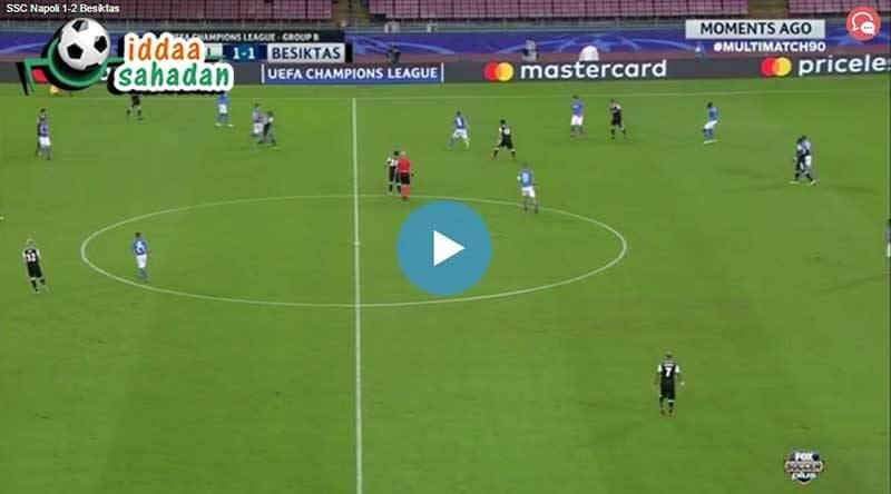 Dinamo Kiev Beşiktaş Maç Özeti