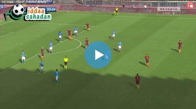 Palermo Roma Maç Özeti