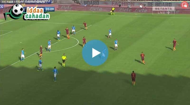 Napoli İnter Maç Özeti
