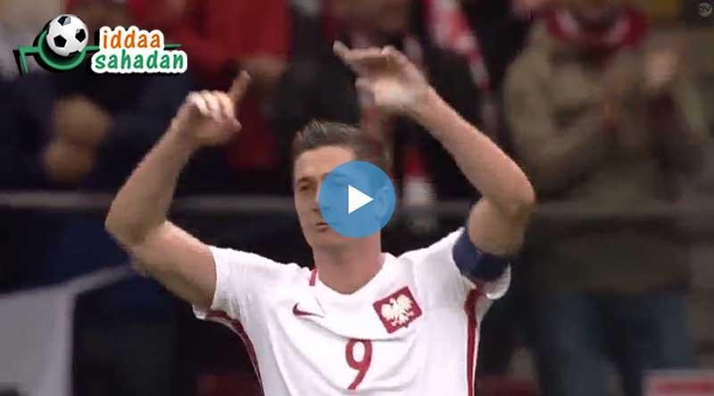 Polonya Danimarka Maçı Özeti