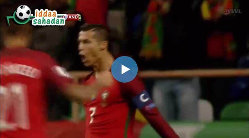 Portekiz Andorra Maçı Özeti