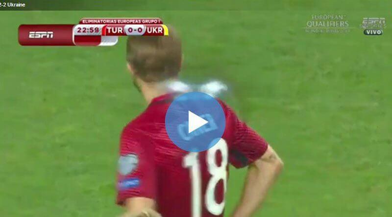 Türkiye Ukrayna Maçı Özeti