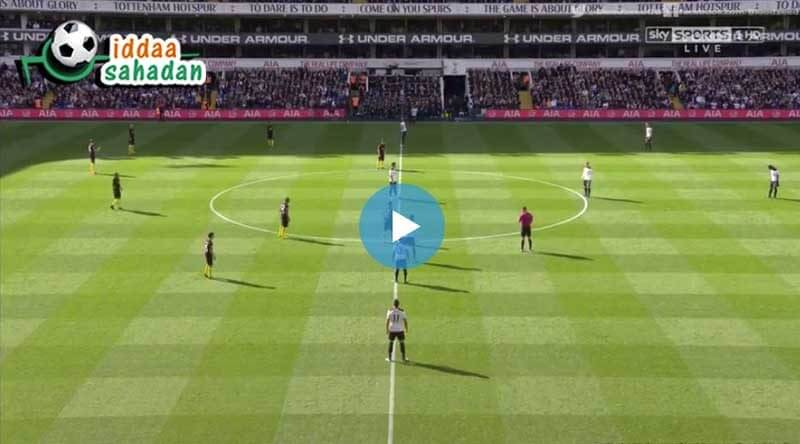 Tottenham 1 - 0 Crystal Palace