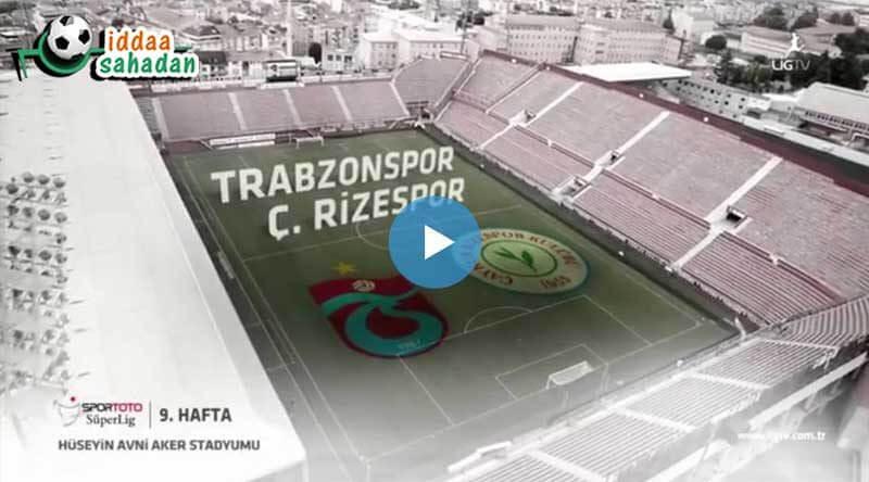Trabzonspor Rizespor Maç Özeti