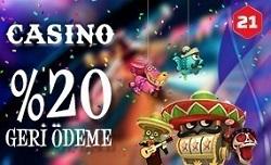 21bet casino bonusu