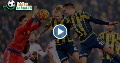Fenerbahçe 0 – 0 Beşiktaş Geniş Maç Özeti