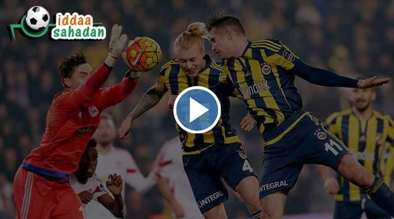 Başakşehir 2 – 2 Fenerbahçe Geniş Maç Özet
