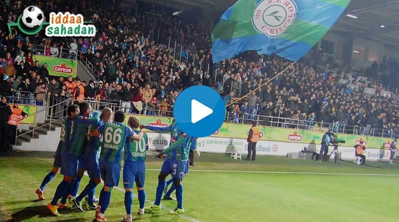 Rizespor 3 - 3 Başakşehir Maç Özeti