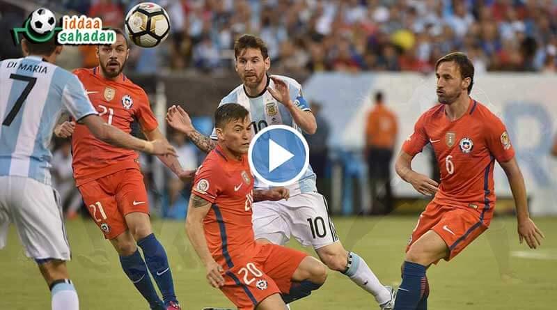 Arjantin Şili Maç Özeti